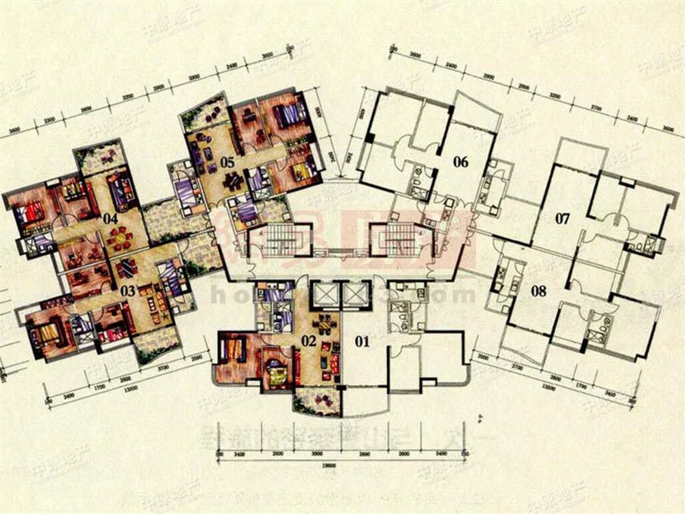 广州雅居乐二手房 广州雅居乐花园一尺山居二手房 当前房源   户型