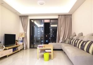 万科东荟城 76方2房 带齐家私家电 仅租3千/月 拎包即住