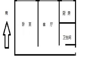 德安大厦 精致一房一厅 出售产权清晰 入读建六小