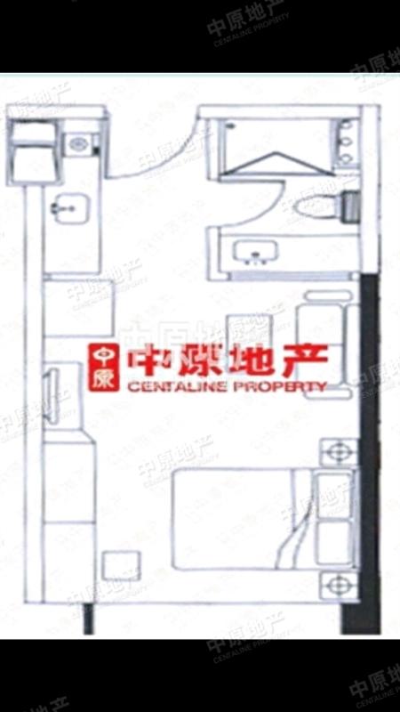 嘉诚国际公寓-户型图